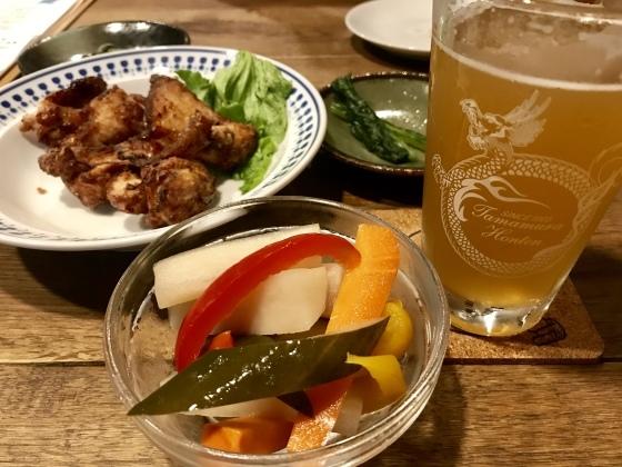 渋温泉 志賀高原ビール タングラム 海鮮丼_b0132338_19181601.jpeg