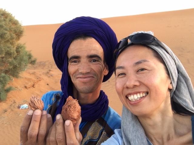 サハラ砂漠inモロッコ_a0171939_18361928.jpg