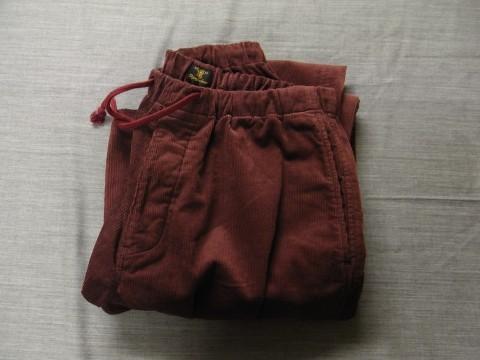 9月の製作 / DA corduroy easy pants_e0130546_12543178.jpg
