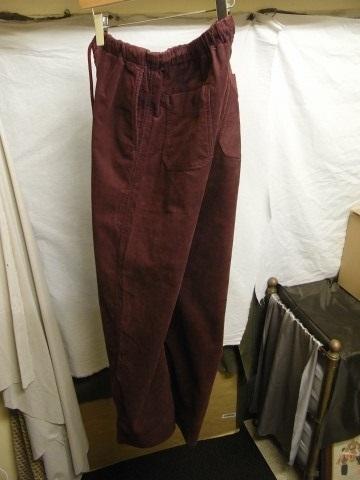 9月の製作 / DA corduroy easy pants_e0130546_12553577.jpg