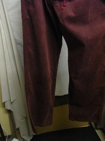 9月の製作 / DA corduroy easy pants_e0130546_12573044.jpg