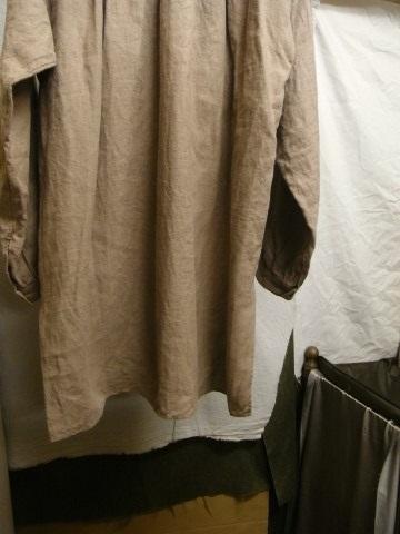 9月の製作 / frenchvictorians belgium-linen pull-over_e0130546_13071003.jpg