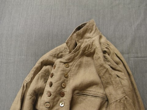 9月の製作 / frenchvictorians belgium-linen pull-over_e0130546_13080176.jpg