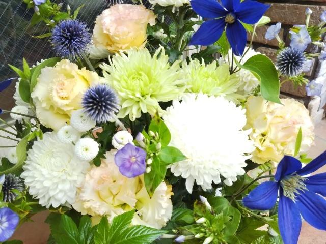 ユリの花束_e0190648_15530207.jpg