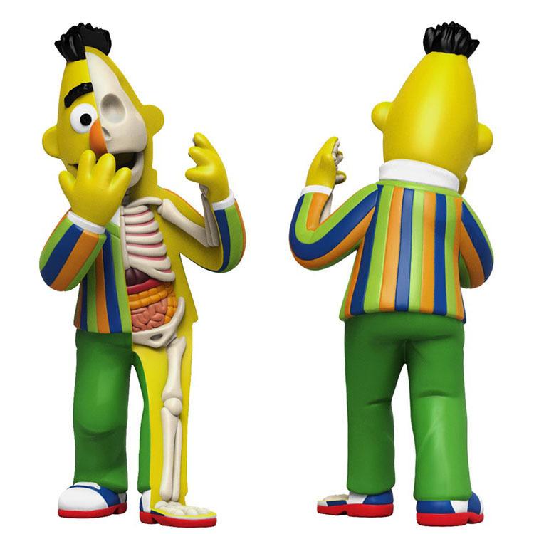 Sesame Street Anatomical Bert by Jason Freeny_e0118156_21560584.jpg