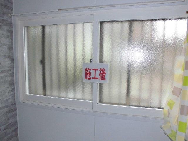 内窓取付けと防犯ガラスに交換で安心・安全をプラス…_d0244968_17275225.jpg