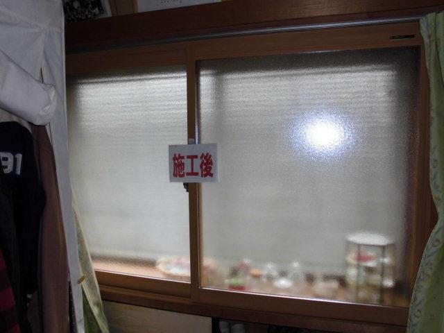 内窓取付けと防犯ガラスに交換で安心・安全をプラス…_d0244968_17275972.jpg