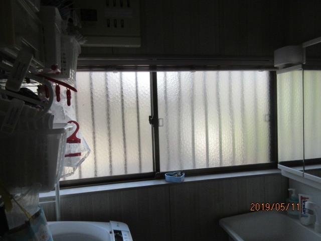 内窓取付けと防犯ガラスに交換で安心・安全をプラス…_d0244968_18062791.jpg
