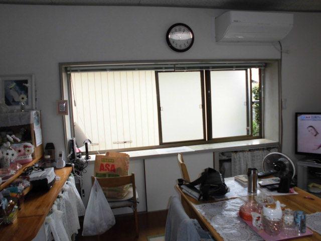 内窓取付けと防犯ガラスに交換で安心・安全をプラス…_d0244968_18123697.jpg