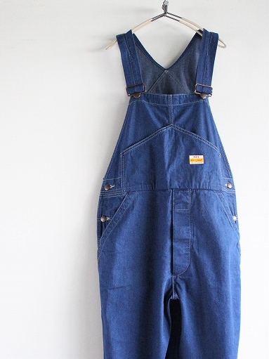 PAYDAY × WEST\'S OVERALL / INDIGO (LADIES SELECT)_b0139281_15513287.jpg