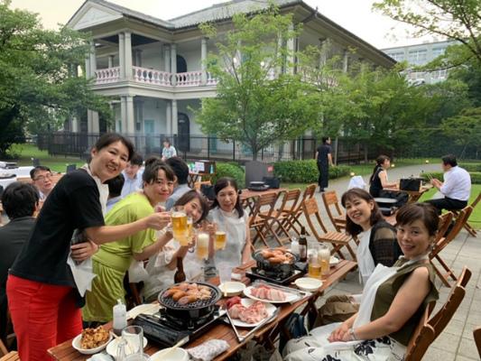 旧桜宮公会堂でBBQ_a0126497_11570057.jpg