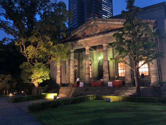 旧桜宮公会堂でBBQ_a0126497_11572027.jpg