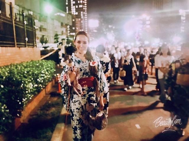 大阪中心。@天神祭奉納花火_a0050302_01002957.jpg