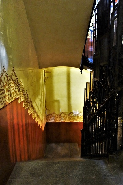 Casa Amatllerガイド付き見学6_b0064411_05485120.jpg