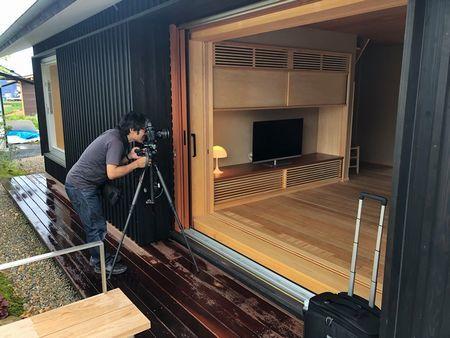 里山モデルハウスの撮影でした!!_a0059217_16030747.jpg