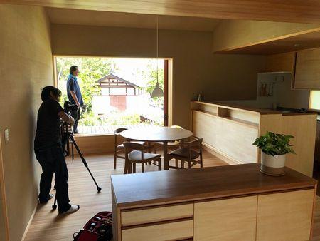 里山モデルハウスの撮影でした!!_a0059217_16032025.jpg
