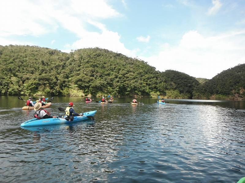 夏のカヌーと川遊びやってます♪_f0121321_13115354.jpg