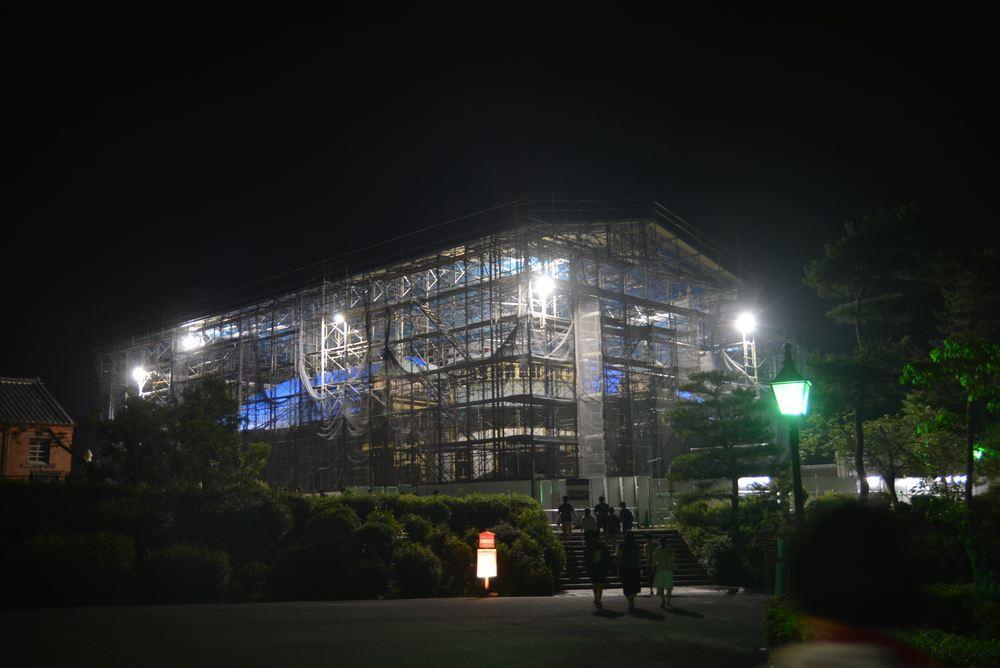 工事夜景_e0373930_23053159.jpg