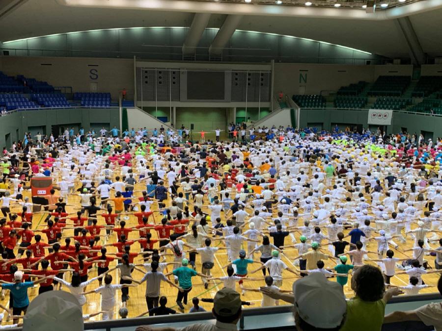 1000万人ラジオ体操祭_f0059673_20524861.jpg