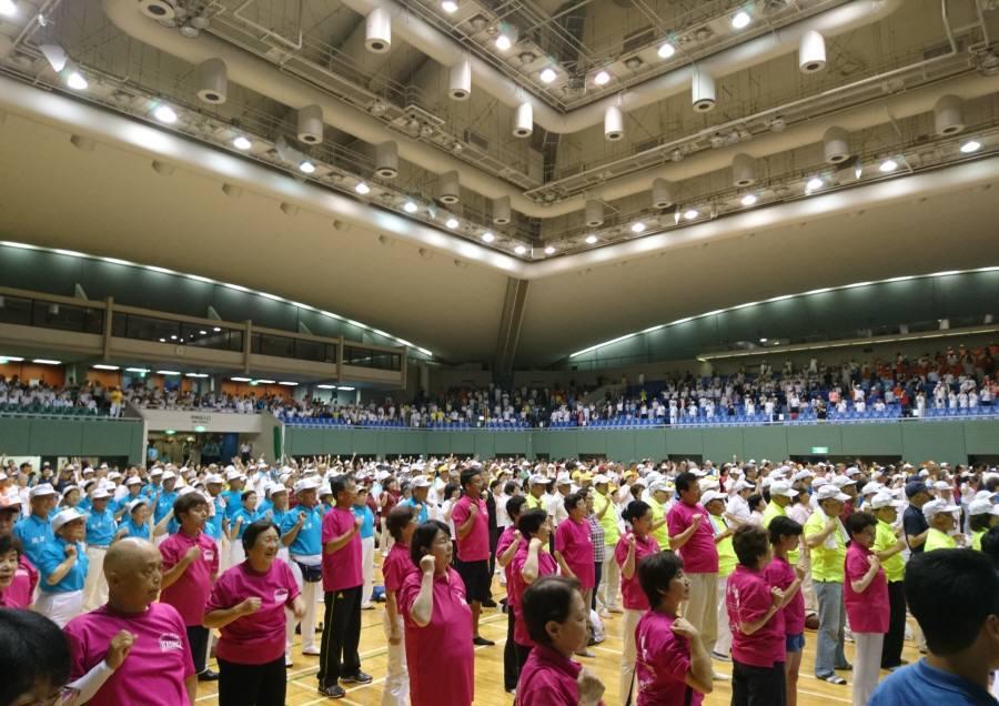 1000万人ラジオ体操祭_f0059673_20530668.jpg