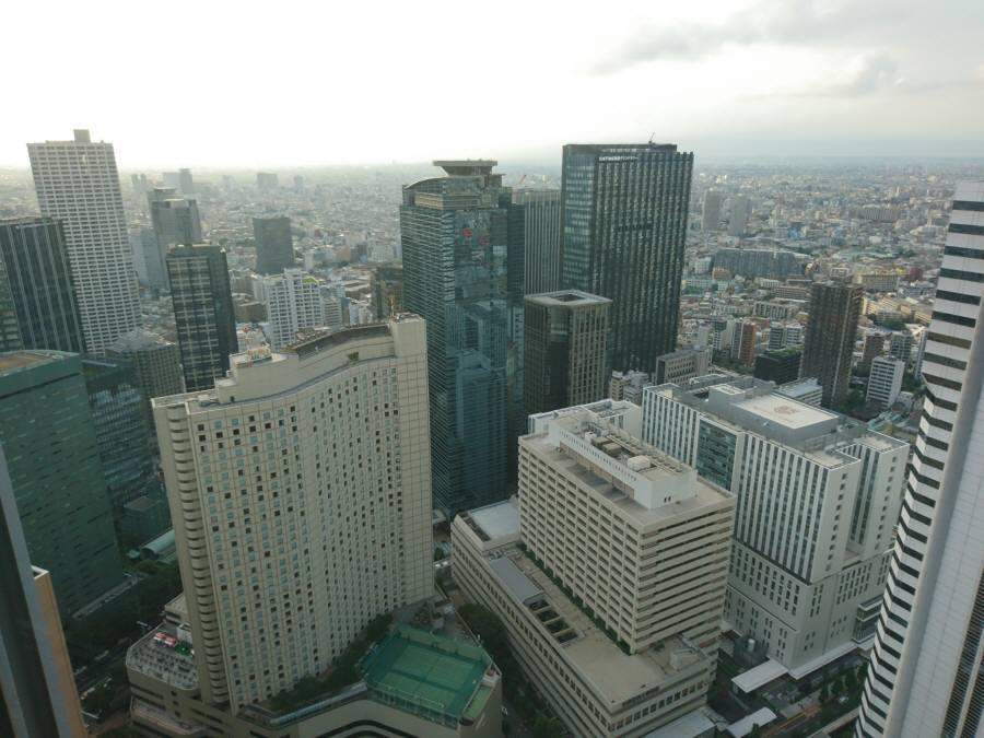 三井住友ビル49階からの眺め_f0059673_21233711.jpg
