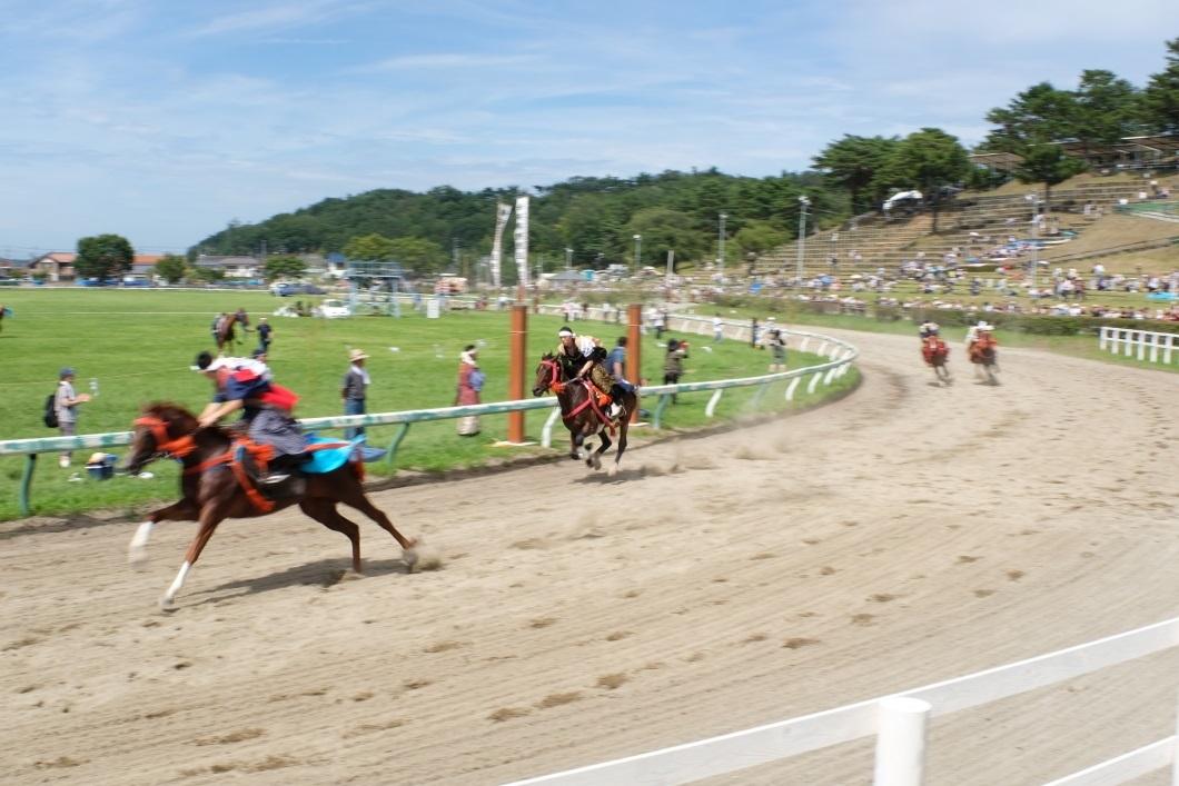 相馬野馬追祭 <2> 宵乗り競馬 2019・07・27_e0143883_03013214.jpg