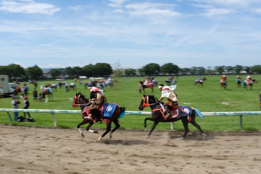 相馬野馬追祭 <2> 宵乗り競馬 2019・07・27_e0143883_03034429.jpg