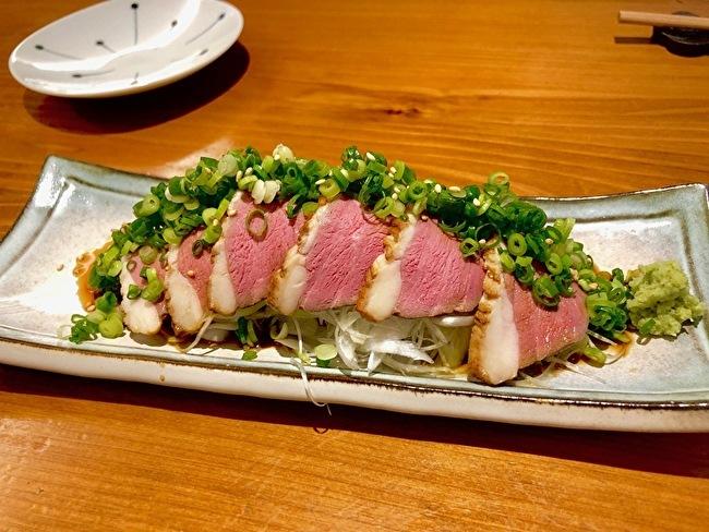 サラダキンパと鴨ローストサラダ、夏野菜のかき揚げ。_a0223786_16272148.jpg