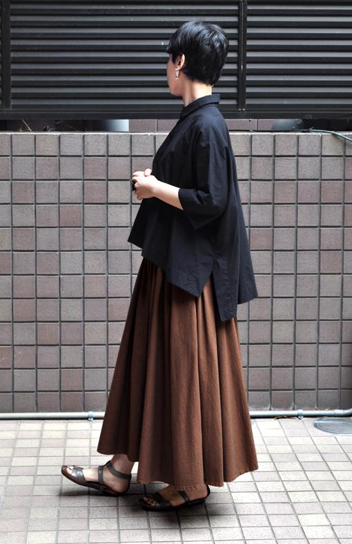 「カジュアルワイド半袖シャツ」ブラック再入荷のお知らせ_d0193211_13432572.jpg