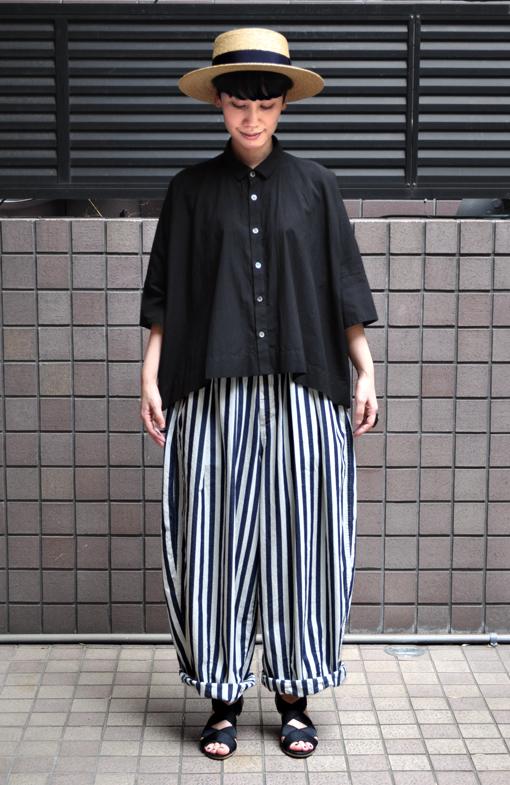 「カジュアルワイド半袖シャツ」ブラック再入荷のお知らせ_d0193211_13442123.jpg