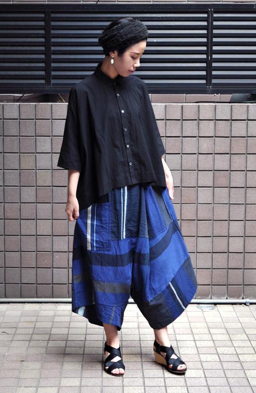 「カジュアルワイド半袖シャツ」ブラック再入荷のお知らせ_d0193211_13443338.jpg