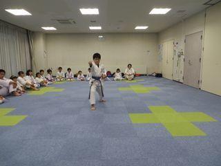 星置教室 夏期昇段級審査会_c0118332_21563005.jpg