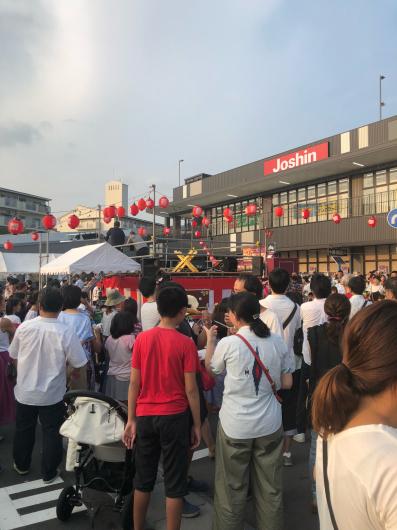 2019/7/29「多田祭りで和太鼓」_e0242155_13005016.jpg