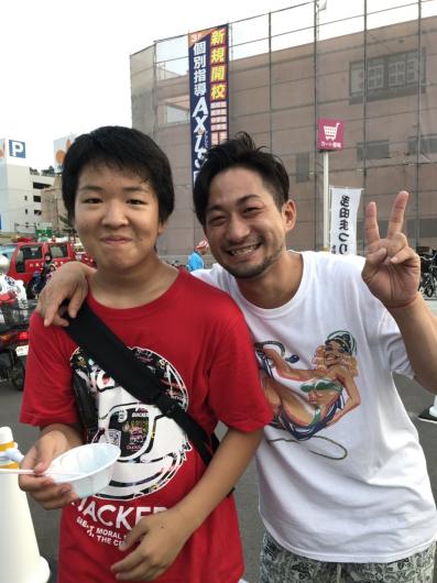 2019/7/29「多田祭りで和太鼓」_e0242155_13013496.jpg