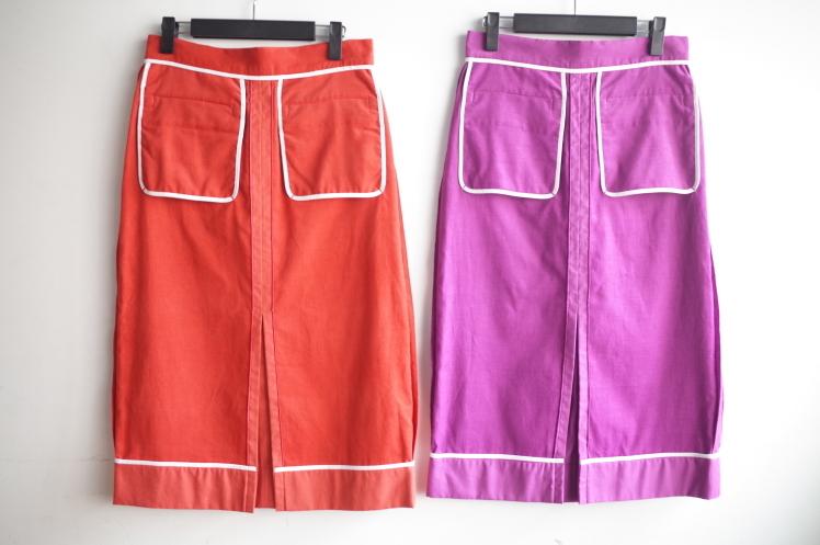 OKIRAKU☆corduroy Skirt☆_e0269968_12061073.jpg