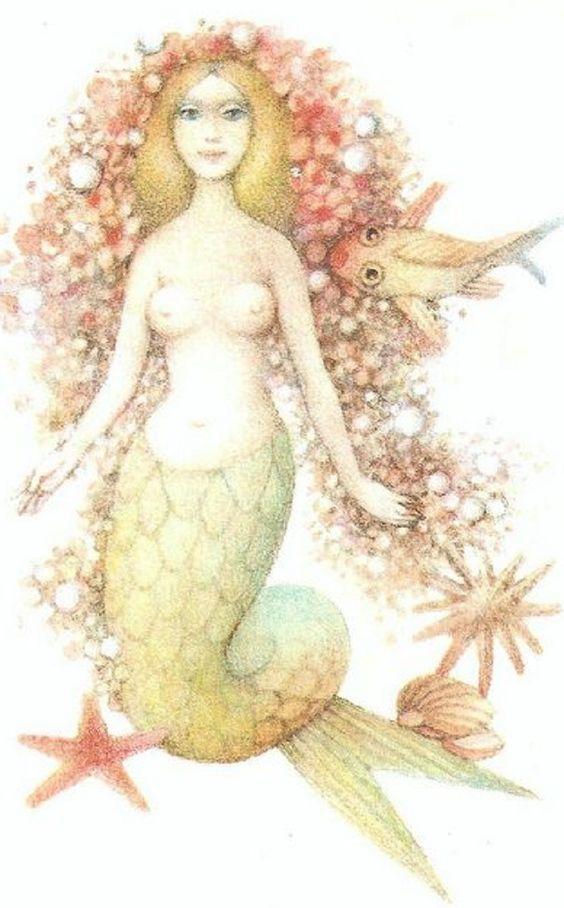 Dagmar Berková画の人魚姫_c0084183_10564062.jpg
