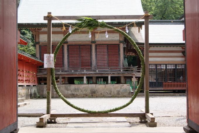 茅の輪設置 R1.07.29_f0191383_15103019.jpg