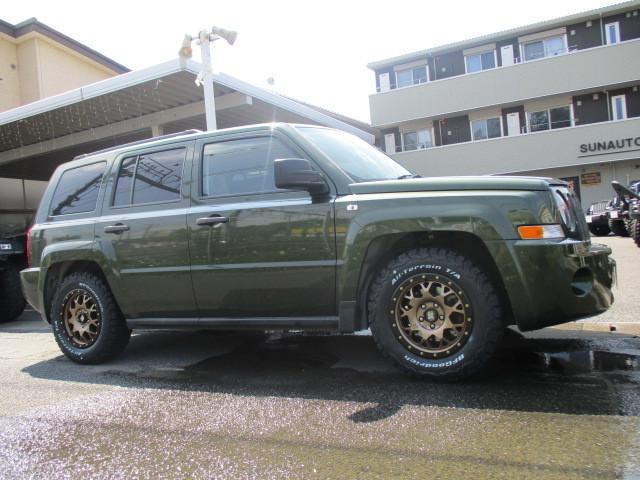 Jeep パトリオット ホイール&タイヤ 変更_b0123820_09195980.jpg