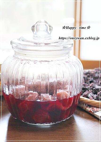 OLさんへ、鮭と枝豆のおむすび弁当と土用干し2日目♪_f0348032_16230091.jpg