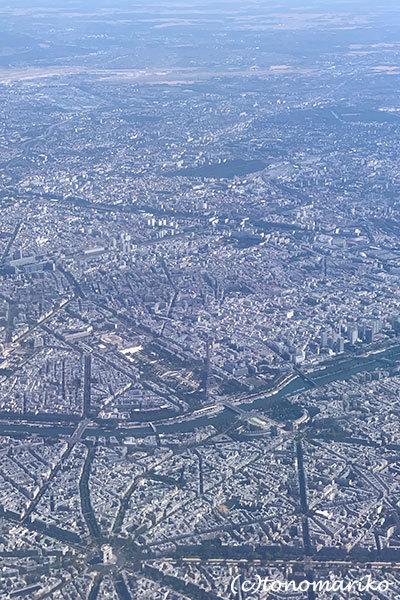 空から眺めたベネチアとパリ_c0024345_16172921.jpg