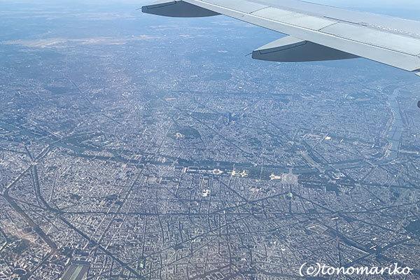 空から眺めたベネチアとパリ_c0024345_16172944.jpg