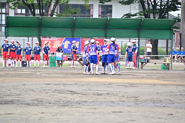 2019福島県大会 安達VS湯川_b0249247_22415761.jpg