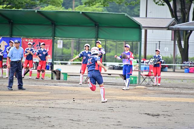 2019福島県大会 安達VS湯川_b0249247_22415784.jpg