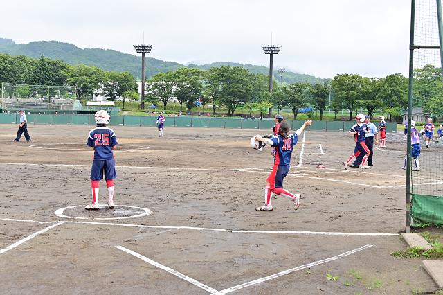 2019福島県大会 安達VS湯川_b0249247_22422054.jpg