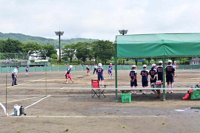 2019福島県大会 安達VS湯川_b0249247_22423061.jpg