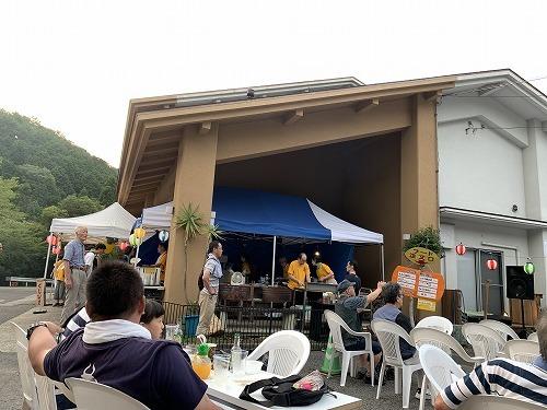 温泉施設の夏 祭りに参加_c0327752_14415921.jpg