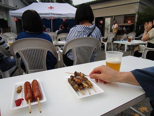 温泉施設の夏 祭りに参加_c0327752_14510976.jpg