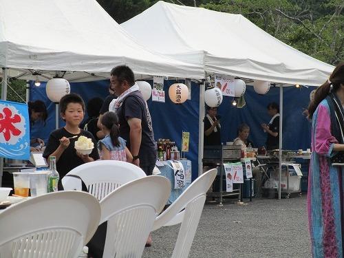 温泉施設の夏 祭りに参加_c0327752_14531824.jpg