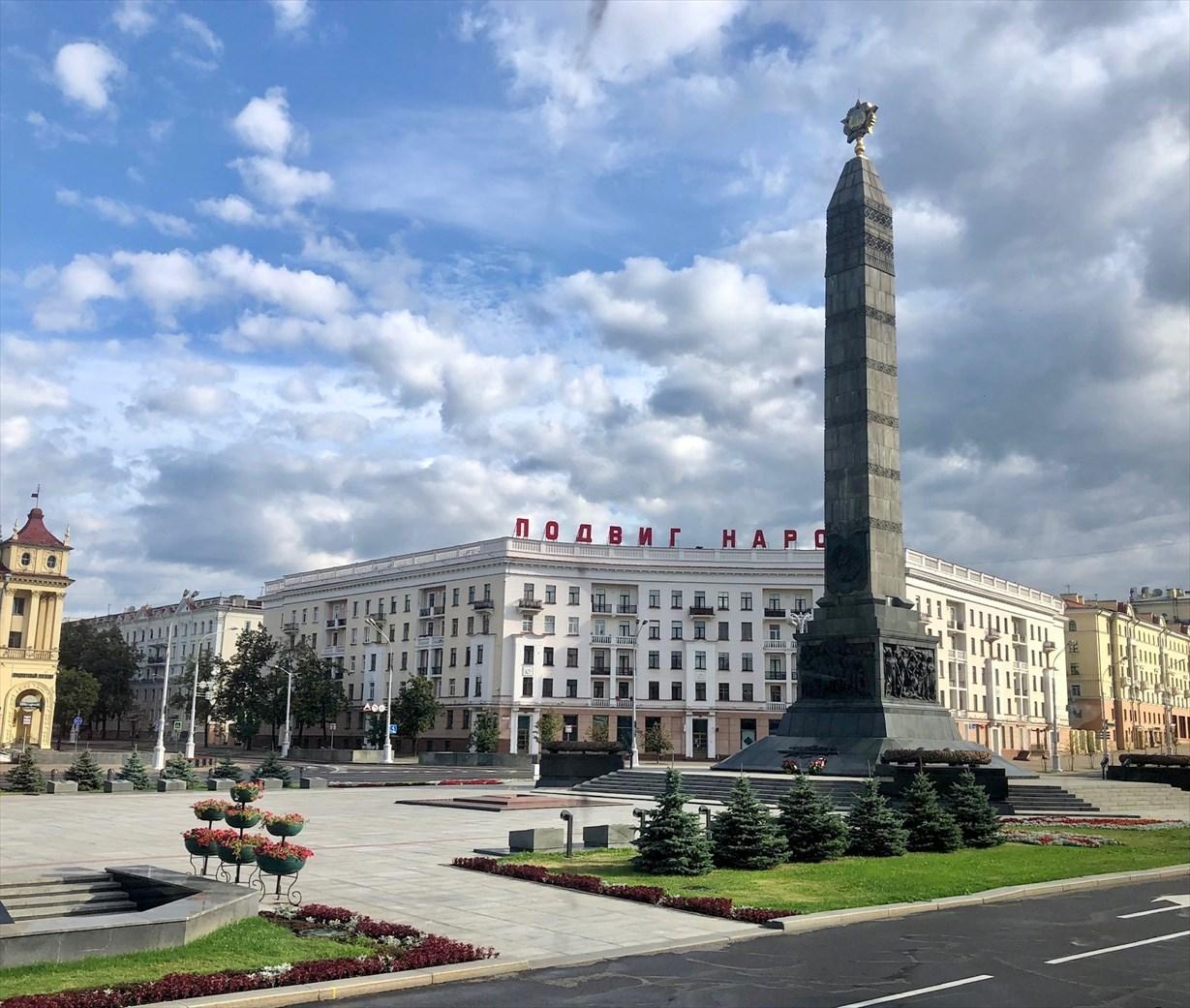ソ連の面影を残す街ミンスク@ベラルーシ_a0092659_23221182.jpg