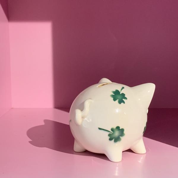 Clover Piggy money bank_a0025778_13050269.jpg